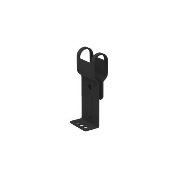 Katuse-lisasusteemid-Turvaelemendid-Katuseredeli-jalg-Must