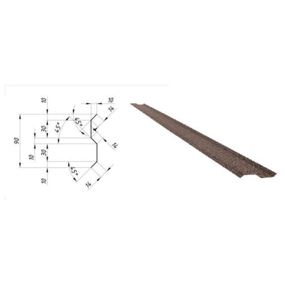 Basaltkihiga liiteplekk vertikaalpindade liitmiseks Queentile