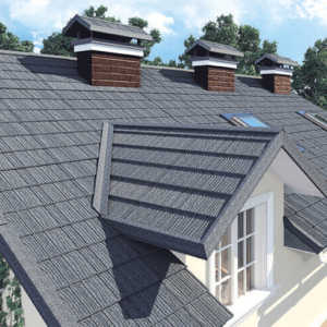 Kivipuistega katuseplekk