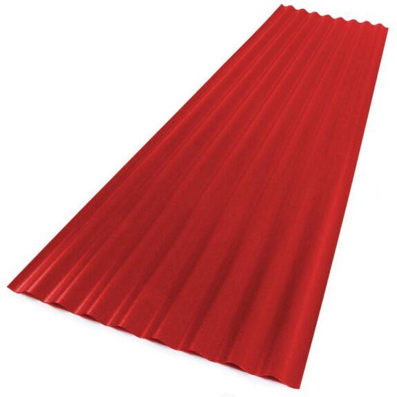 PVC laineplaat-punane