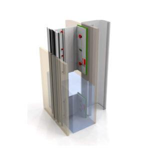 Vertikaalne fassaadikinnitus süsteem NV2