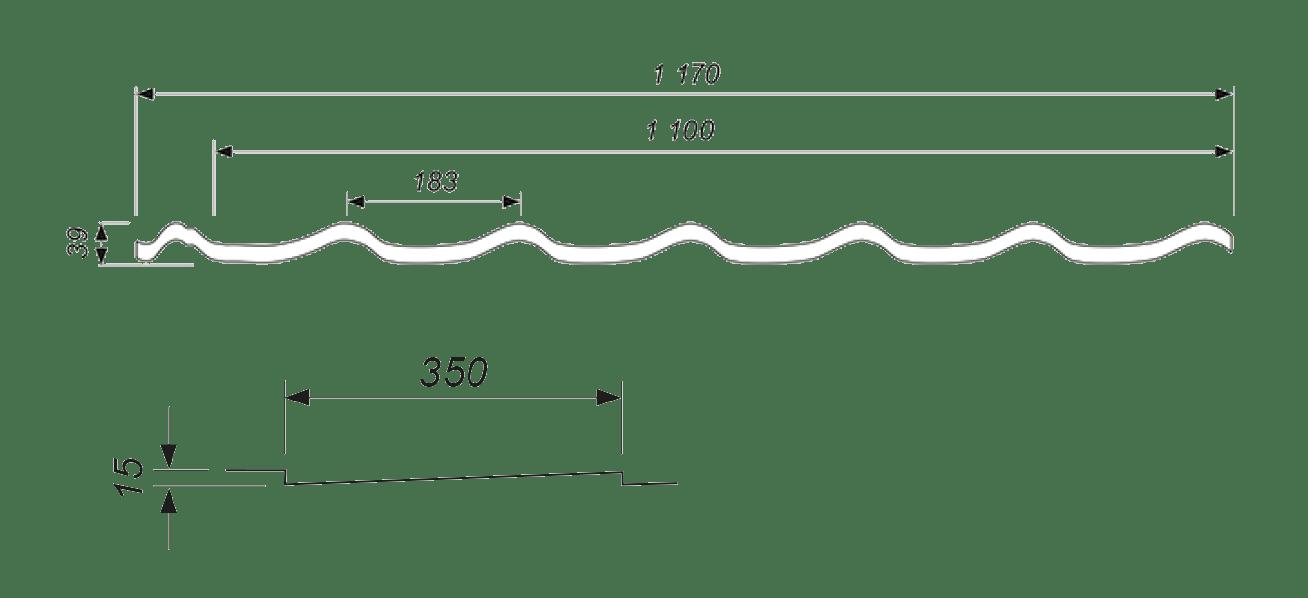 kiviprofiil-katuseplekk-spektrum-joonis